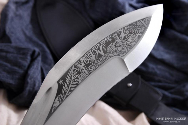 Jungle Kukri Karelische Birke